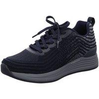 Schuhe Herren Sneaker Low Ara Schnuerschuhe 11-13601-12 blau