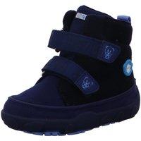 Schuhe Jungen Babyschuhe Affenzahn Klettstiefel Mid Boot Vegan Bear AFZ-SMB-123-305 blau