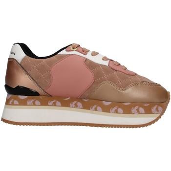 Schuhe Damen Sneaker Low Manila Grace S649LU Beige