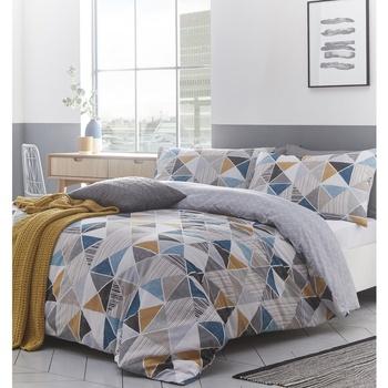 Home Bettbezug Creative Cloth Lit King Size RV1330 Bunt