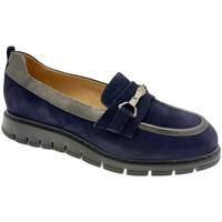 Schuhe Damen Slipper Donna Soft DOSODS1220blu blu