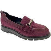 Schuhe Damen Slipper Donna Soft DOSODS1220bor blu