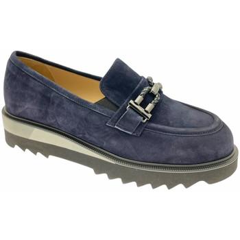 Schuhe Damen Slipper Donna Soft DOSODS1199blu blu