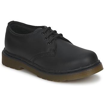 Schuhe Kinder Derby-Schuhe Dr Martens Dm J Shoe Schwarz