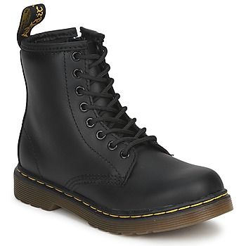 Schuhe Kinder Boots Dr Martens DM J BOOT Schwarz