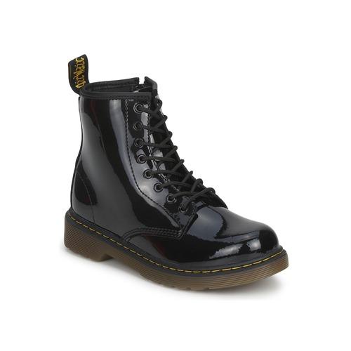 Schuhe Mädchen Boots Dr Martens DELANEY Schwarz