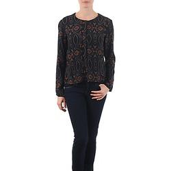 Kleidung Damen Tops / Blusen Antik Batik VEE Schwarz