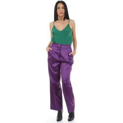 Kleidung Damen Anzughosen Vicolo TX0372 Violett