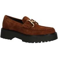 Schuhe Damen Slipper Pregunta PQ7325177AI22 Halbschuhe Damen Braun
