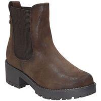 Schuhe Damen Low Boots D'angela BOTINES  DHO20221 MODA JOVEN MARRON Marron