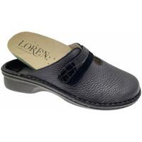 Schuhe Damen Pantoletten / Clogs Calzaturificio Loren LOM2847blu blu