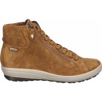 Schuhe Damen Boots Bama Stiefelette Hellbraun