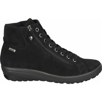 Schuhe Damen Boots Bama Stiefelette Schwarz