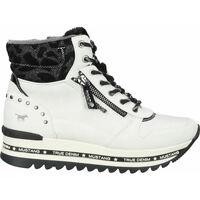 Schuhe Damen Sneaker High Mustang Stiefelette Ice