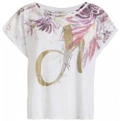 Kleidung Damen T-Shirts Deha D4312210001 Weiß