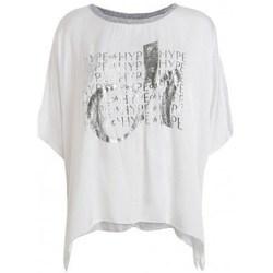 Kleidung Damen T-Shirts Deha D43333 Weiß