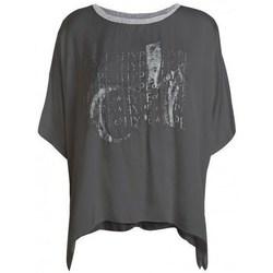 Kleidung Damen T-Shirts Deha D43333 Graphit