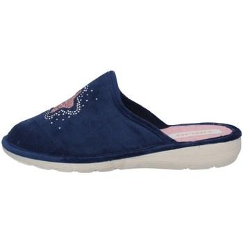 Schuhe Damen Pantoletten / Clogs Tiglio 2592 Blau