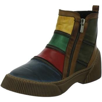 Schuhe Damen Stiefel Gemini Stiefeletten 033119 854 blau