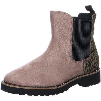 Schuhe Damen Stiefel La Strada Stiefeletten Chelsea bootie 2003206 beige