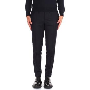 Kleidung Herren Anzughosen Incotex ZR851Z 1645T Blau