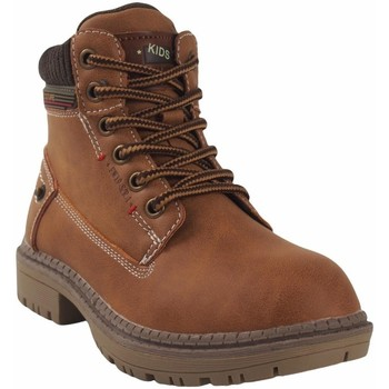 Schuhe Jungen Boots Bubble Bobble Botín niño  a3478 cuero Braun