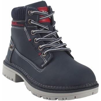 Schuhe Jungen Boots Bubble Bobble Botín niño  a3478 azul Blau