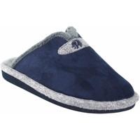 Schuhe Herren Hausschuhe Garzon Ir por casa caballero  p961.260 azul Blau