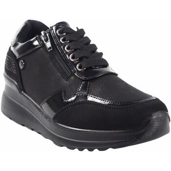 Schuhe Damen Sneaker Low Amarpies Zapato señora  20315 ast negro Schwarz