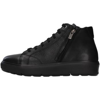 Schuhe Herren Sneaker Low CallagHan 45510 Schwarz