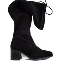 Schuhe Damen Stiefel Bryan 4803 Schwarz