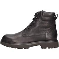 Schuhe Herren Boots CallagHan 48105 amphibie Mann Schwarz