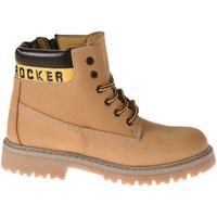 Schuhe Kinder Boots Melania MK6063F8I.C Gelb