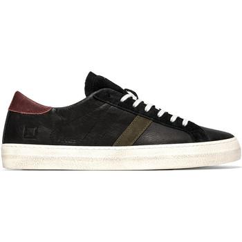 Schuhe Herren Sneaker Low Date M351-HL-VC-BA Schwarz