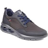 Schuhe Herren Sneaker Low CallagHan 45406 Grau