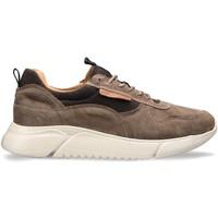 Schuhe Herren Sneaker Low Docksteps DSM000100 Braun