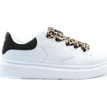 Schuhe Damen Sneaker Low Shop Art SA80200 Weiß