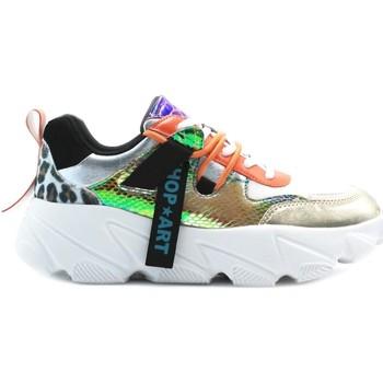 Schuhe Damen Sneaker Low Shop Art SA80224 Weiß