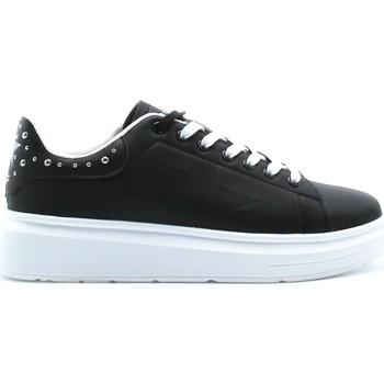 Schuhe Damen Sneaker Low Shop Art SA80218 Schwarz