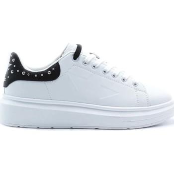 Schuhe Damen Sneaker Low Shop Art SA80218 Weiß