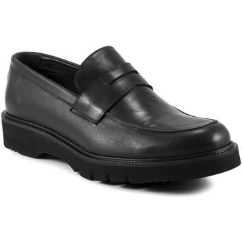 Schuhe Herren Slipper Exton 662 Schwarz