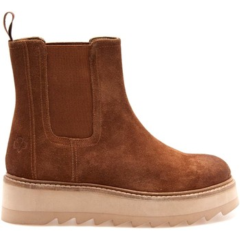 Schuhe Damen Low Boots Apepazza F1COUNTRY01/SUE Braun