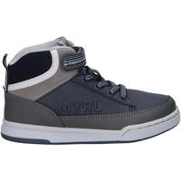 Schuhe Jungen Boots Mayoral 44271 Azul