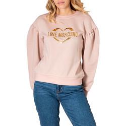 Kleidung Damen Sweatshirts Love Moschino W645301M4308 Rosa
