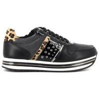 Schuhe Mädchen Sneaker Low Asso AG12631 Noir