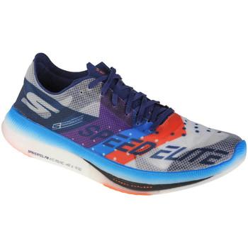 Schuhe Herren Laufschuhe Skechers Go Run Speed Elite Hyper Weiss