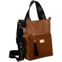 Taschen Damen Handtasche Badura 131140 Braun