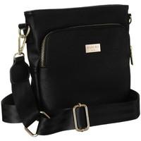 Taschen Damen Handtasche Badura 105110 Schwarz