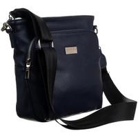 Taschen Damen Umhängetaschen Badura 130980 Dunkelblau