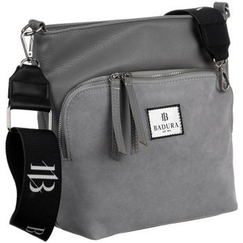 Taschen Damen Umhängetaschen Badura 131250 Grau